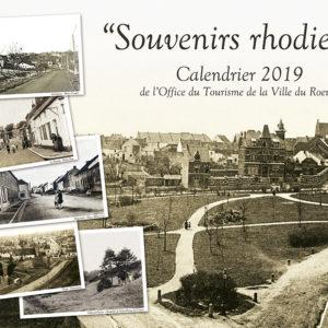 Calendrier 2019 «Souvenirs rhodiens»