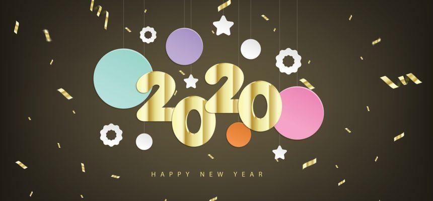 Toute l'équipe éducative vous souhaite une bonne et heureuse année 2020, qu'elle vous apporte joie, bonheur et santé.